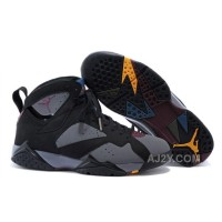 Air Jordan 7 Bordeaux 2015 Black/Bordeaux-Light Graphite-Midnight Fog Xmas Deals 2016
