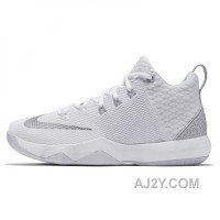 Nike Lebron Ambassador 9 White Cheap To Buy