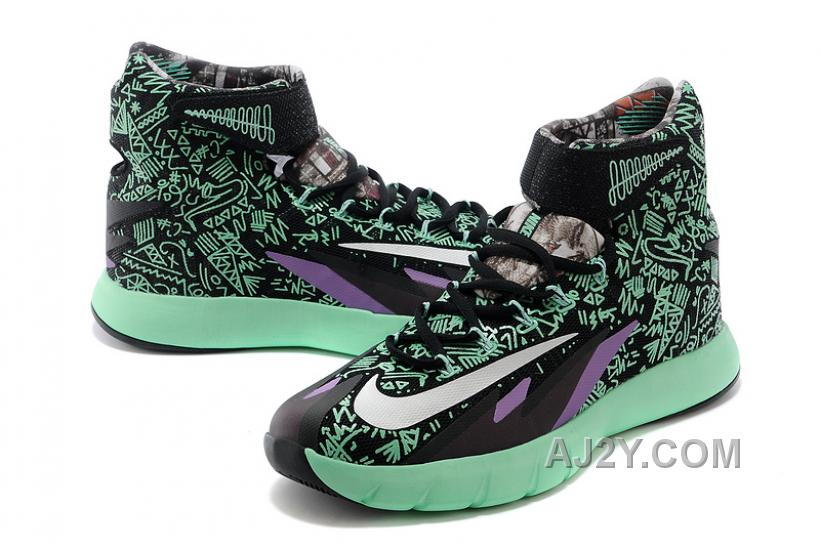 "Nike Zoom Hyperrev KYRIE IRVING ""All-Star"" PE Minty Green/Black-Purple For Sale"