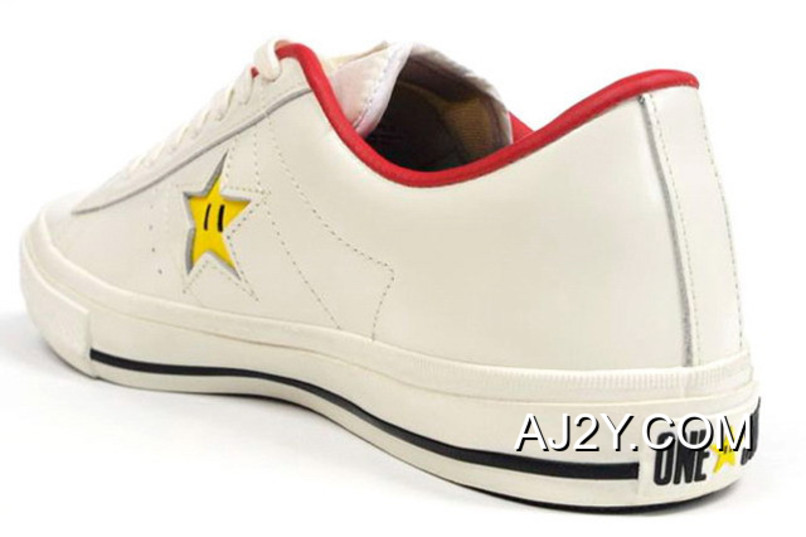 Super Mario Bros.x Converse One Star 40+1C678 (31) White Online